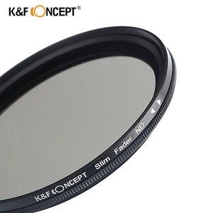 Image 2 - K & F CONCEPT réglable ND2 à ND400 ND filtre dobjectif 37MM 55MM 58MM 62MM 67MM 72MM 77MM 95MM mince Fader densité neutre Variable
