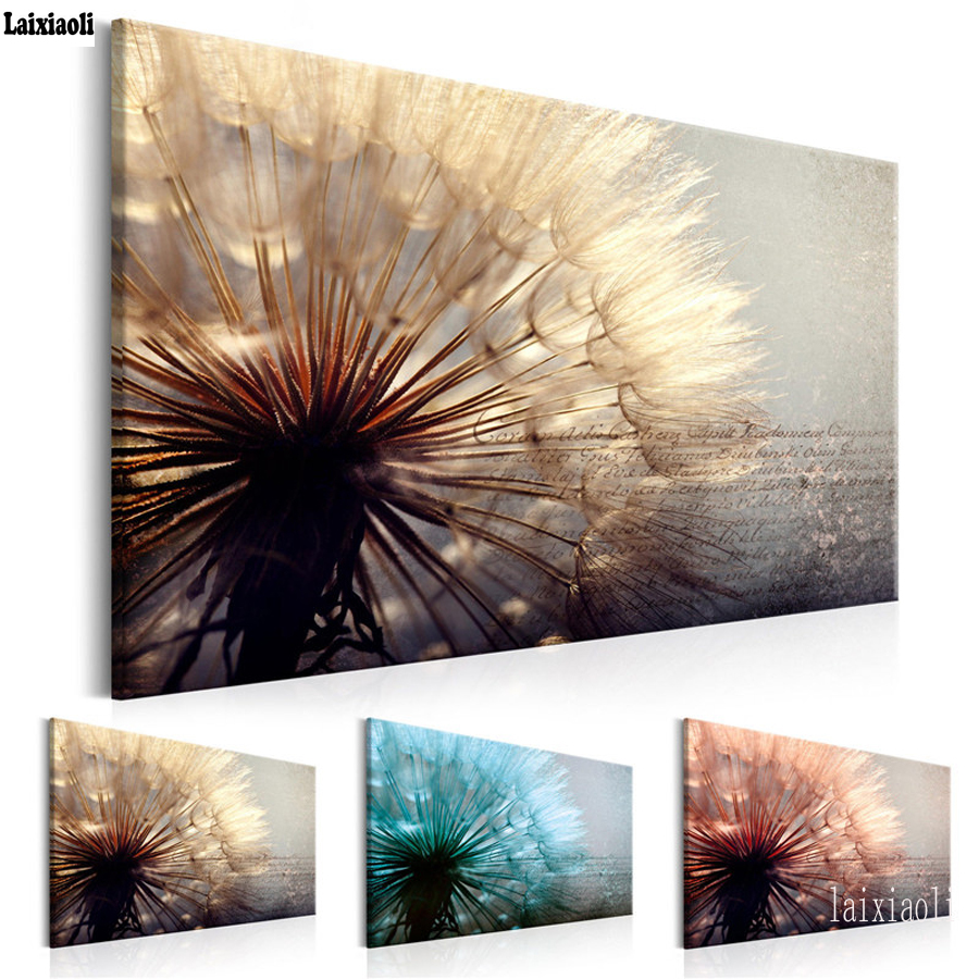 Large 5D Diy Daimond Painting Dandelions and Cobweb 5D Diamond Embroidery Full Square round Drill Cross Stitch Wall Art paintingLarge 5D Diy Daimond Painting Dandelions and Cobweb 5D Diamond Embroidery Full Square round Drill Cross Stitch Wall Art painting