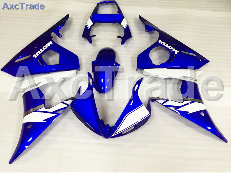 цены Motorcycle Fairings Kits For Yamaha YZF600 YZF 600 R6 YZF-R6 2003 2004 2005 03 04 05 ABS Injection Fairing Bodywork Kit Blue
