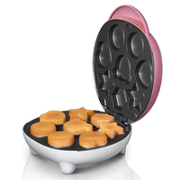 Cake Machine Fully Automatic Mini Double sided Fried Waffle Maker Electric Baking Pan Insulated Bakelite Safe and Non stick