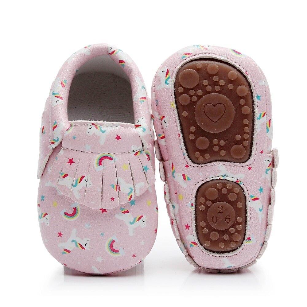 c0fb90dbe9a Cheap Unicornio recién nacido niñas niños zapatos mocasines estampado de dinosaurio  Infantil Niño suela dura cuna
