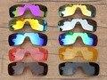 Pv polarizada lentes de reposição para óculos oakley batwolf óculos de sol-várias opções