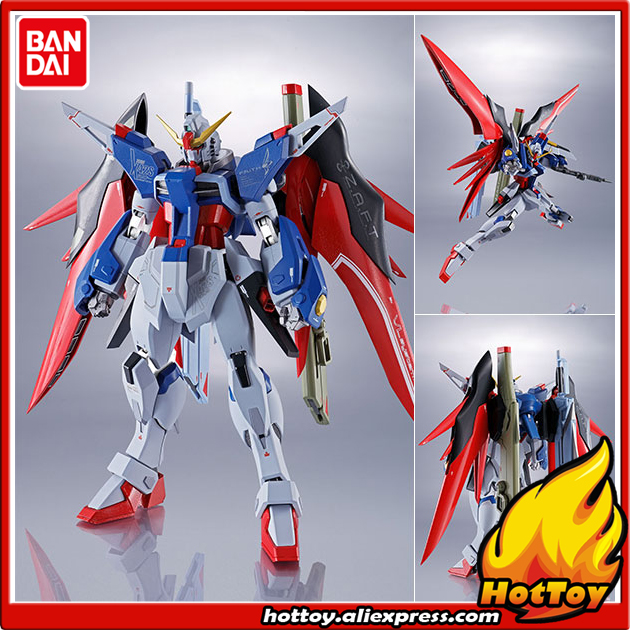 100% figurine d'action en métal pour esprits de Robot en métal BANDAI Original-destin Gundam de
