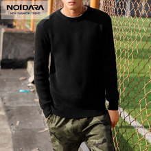 No.1 Dara 2018 New Autumn Winter Mens Pullover Sweaters Cotton Casual O Neck Sweater Jumpers Thin Male Knitwear Top