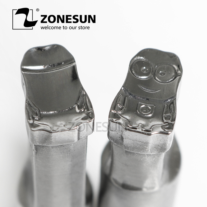 ZONESUN Cartoon character punching die mold sugar milk Punching Set Stamp tablet die for candy press equipment TDP 0/1.5/3 any kind punching die press brake tooling mold