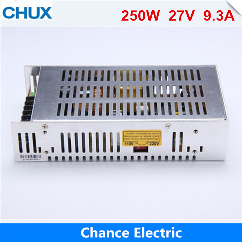 27v 9A Switching Power Supply AC to DC 220v to 27v Adjustable voltage power supply Free shipping 250W free shipping spw47n60c3 to 3p 47n60c3 spw47n60 47n60 cool mos power transistor to 247