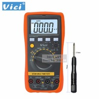 Vici VICHY VC88 3 3/4 Digital Multimeter Auto Range DMM w/Temperature Capacitance Frequency hFE CMOS TTL Logic Test