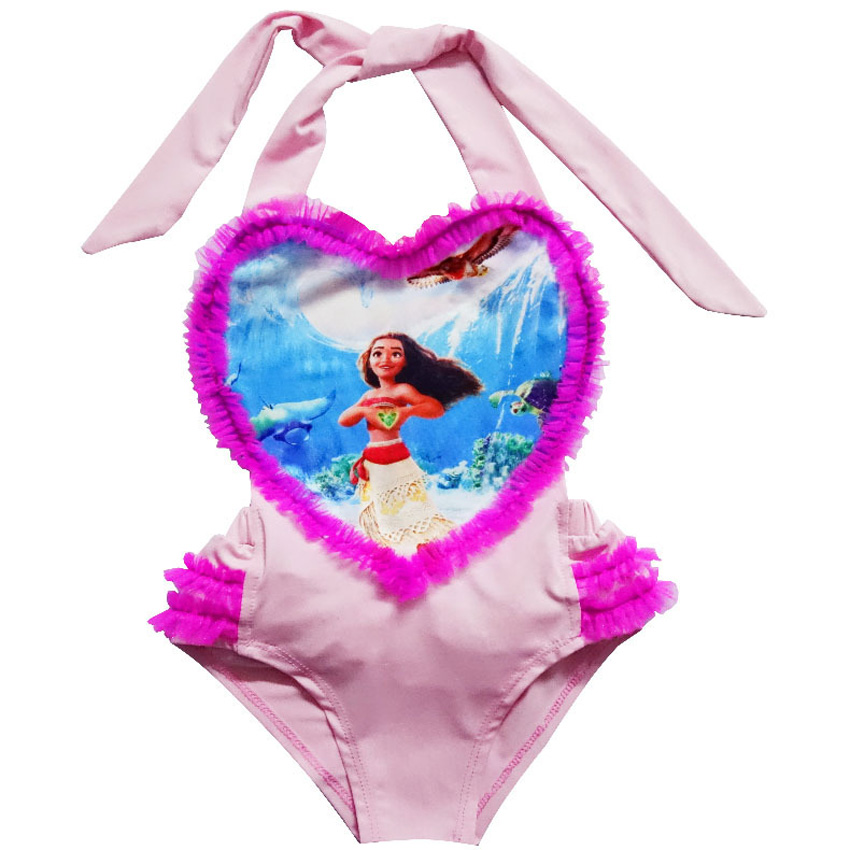 e5517da0df Summer 2017 Trolls Moana Girls Beach Bikini Dresses For Children Cartoon  Swimsuit Costume Infant Kids Bathing Suit Clothing Wear on Aliexpress.com |  Alibaba ...