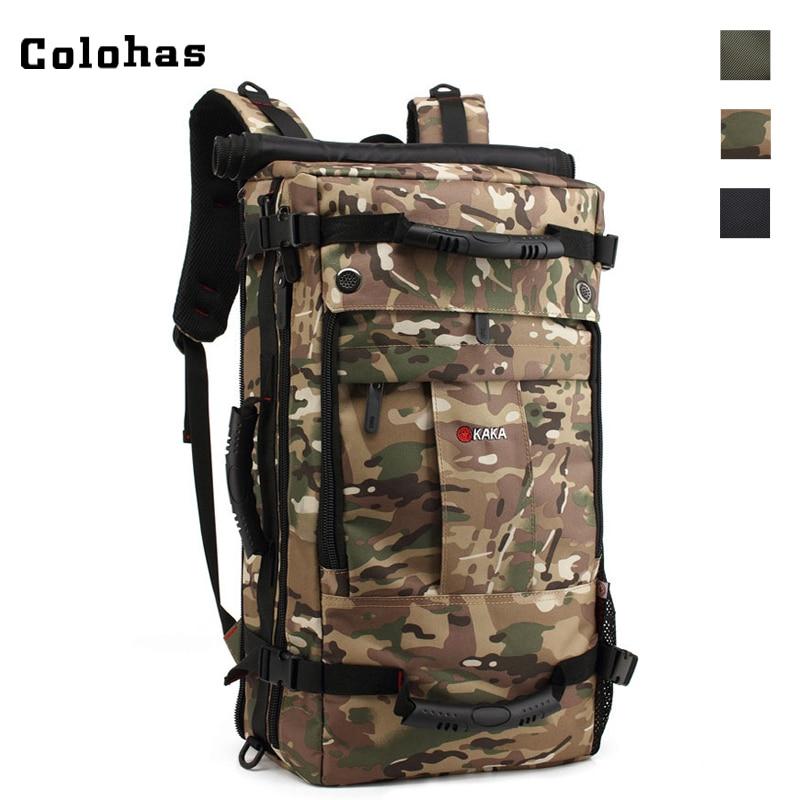 40L Multifunction Laptop Backpack for Macbook ASUS Lenovo Outdoor Travel Rucksack Large Capacity Shoulder Messenger Bag
