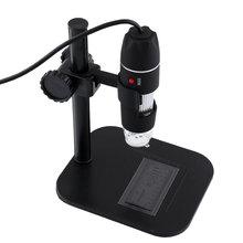 Wholesale 50X-500X USB Portable Digital Microscope Endoscope Electronic Magnifier Camera W/8LED XP/VISTA/WIN 7 Black tools ferramentas
