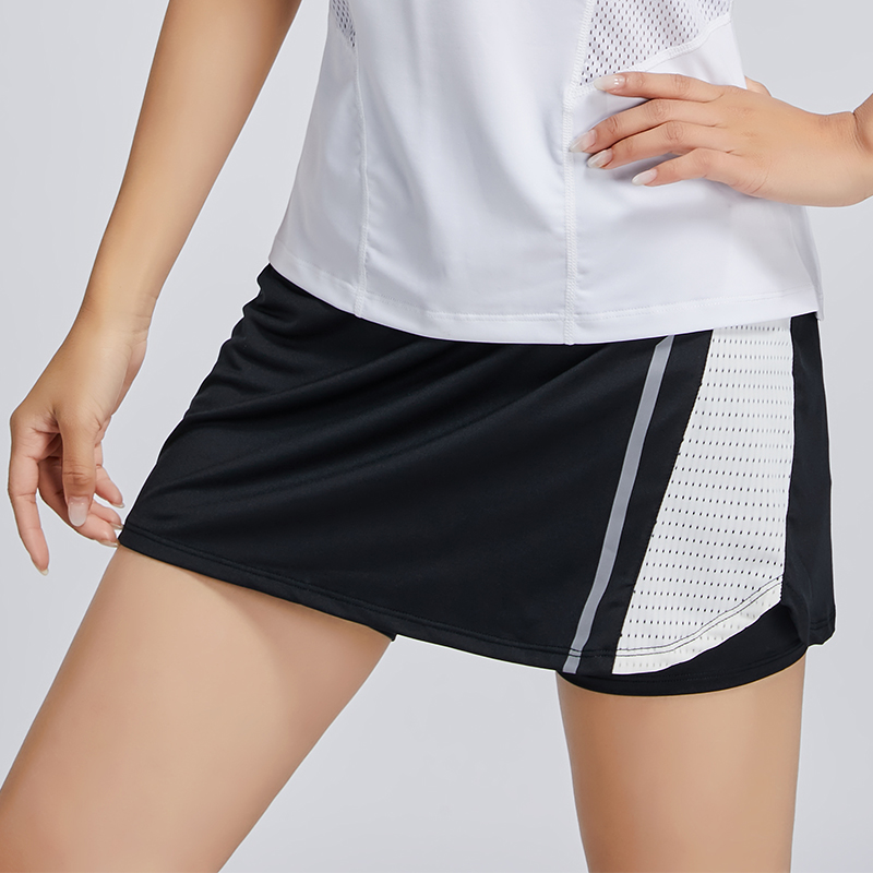 Short Sport Homme Fitness New Tennis Skirt Breathable Badminton Shorts Quick Dry Women Sport Skirts Running Gym 2019 Women in Running Shorts from Sports Entertainment
