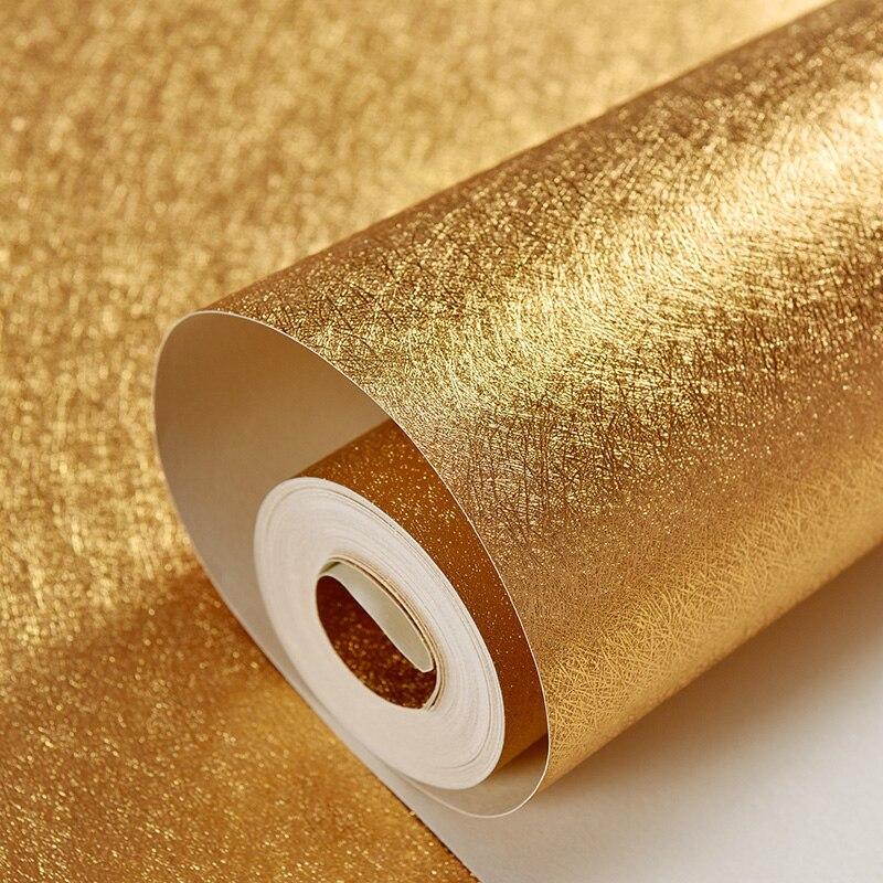Beibehang papel de parede, Bar KTV toile de fond PVC papier peint feuille d'or plafond suspendu matériel or papier peint pour murs 3 d