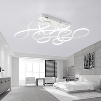 Post Modern Ceiling Lamp Living Room Lights Simple Fashion Personality Led Room Bedroom Lamp Restaurant Warm