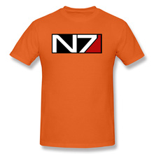 Mass Effect N7 T Shirt Relay Prothean Reaper Funny Tshirts Design Soldier Engineer Adepts Vanguard Game Men New