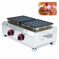 Gas Non Stick Small Pancake Machine Dutch Poffertjes Maker Nonstick Cooking Surface Brand New Breakfast Snacks
