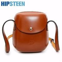 HIPSTEEN PU Leather Mini Woman Travel Bags 2017 Fashion Large Capacity Woman Travel Shuolder Messenger Bag