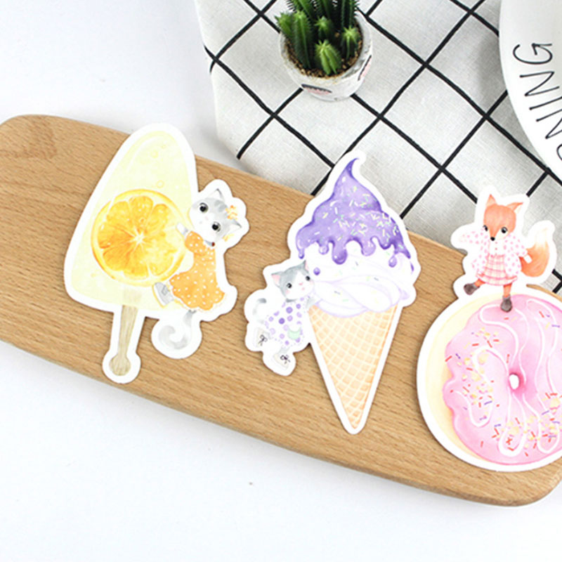 30 pcs/lot Cute Ice cream dessert heteromorphism postcard greeting card christmas & birthday message card gift cards 30 pcs lot novelty yard cat postcard cute animal heteromorphism greeting card christmas card birthday message card gift cards