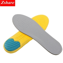 Memory Foam Sport Insoles For Shoes Unisex Thickening Shock Absorption Breathable Basketball Pads Light Soft Insole HD1