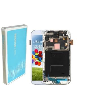Image 4 - 5.0 الأصلي شاشة الكريستال السائل محول الأرقام بشاشة تعمل بلمس لسامسونج غالاكسي S4 GT i9505 i9500 i9505 i9506 i337 LCD مع الإطار