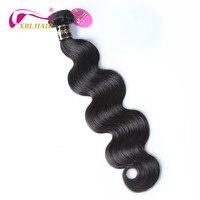 XBLHAIR длинные волосы ткань 30 40 бразильский объемная волна натуральная Наращивание волос человека ткет натуральный Цвет Бесплатная доставка
