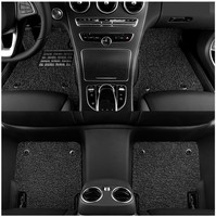 For Hyundai Elantra 2016.2017.2018 Floor Mats Foot Carpets Step Mat High Quality Water Proof leather Wire coil 2 Layer