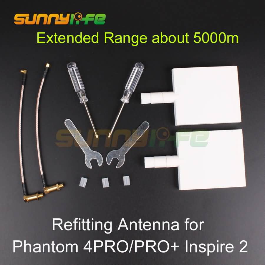 цена на Remote Controller DIY Refitting Antenna Directive Controller Range Extender for DJI Phantom 4 PRO and 4 PRO+ V2.0 Inspire 2