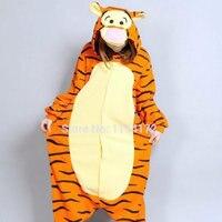 3D Dimensional Tiger Costume Pajamas Cartoon Animal Cosplay Pyjamas Adult Onesies Party Dress Halloween Pijamas