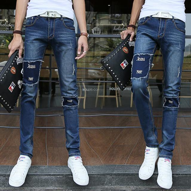 Aliexpress.com : Buy Hot Sell Ripped Jeans Men With Holes Super