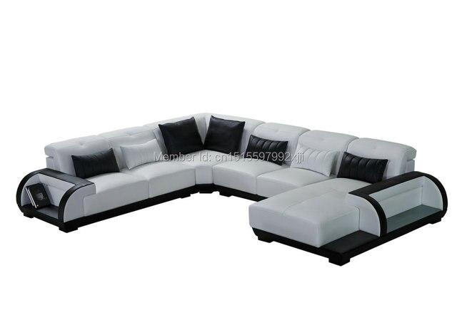 2017 Chaise Beanbag Top Fashion European Style Bolsa Muebles Sofas Direct Factory Modern Design Leather Sofa