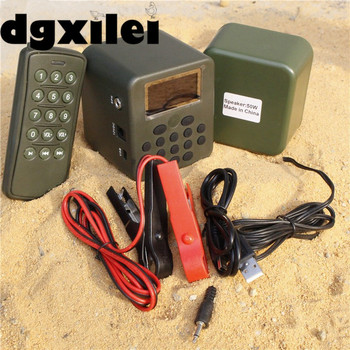 2017 Free Shipping Mp3 Bird Caller Sounds Audio Player Bird Caller Hunting Decoy Speakers With 100~200M Remote Control From Xile