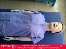 FEMALE/MALE AUTOMATIC FULL-BODY CPR MEDICAL TRAINING ,HIGH-INTELLIGENT DIGITAL COMPREHENSIVE CPR TRAINING MANIKIN GASEN-CPRM0002