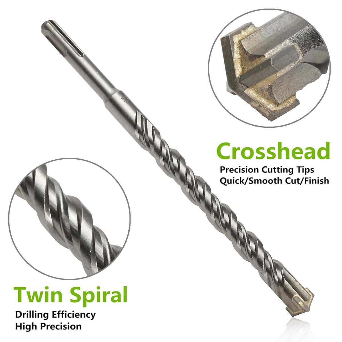 Masonry Drill Bit Tungsten Carbide Crosshead Masonry Drill Bits 5mm to 14mm