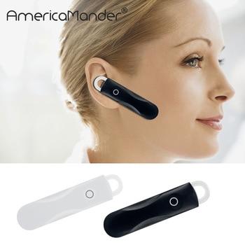 Stereo Music Headset Bluetooth Earphone 4.1 Earhook Headphone Mini Wireless Handfree Universal for Samsung iPhone HTC Xiaomi