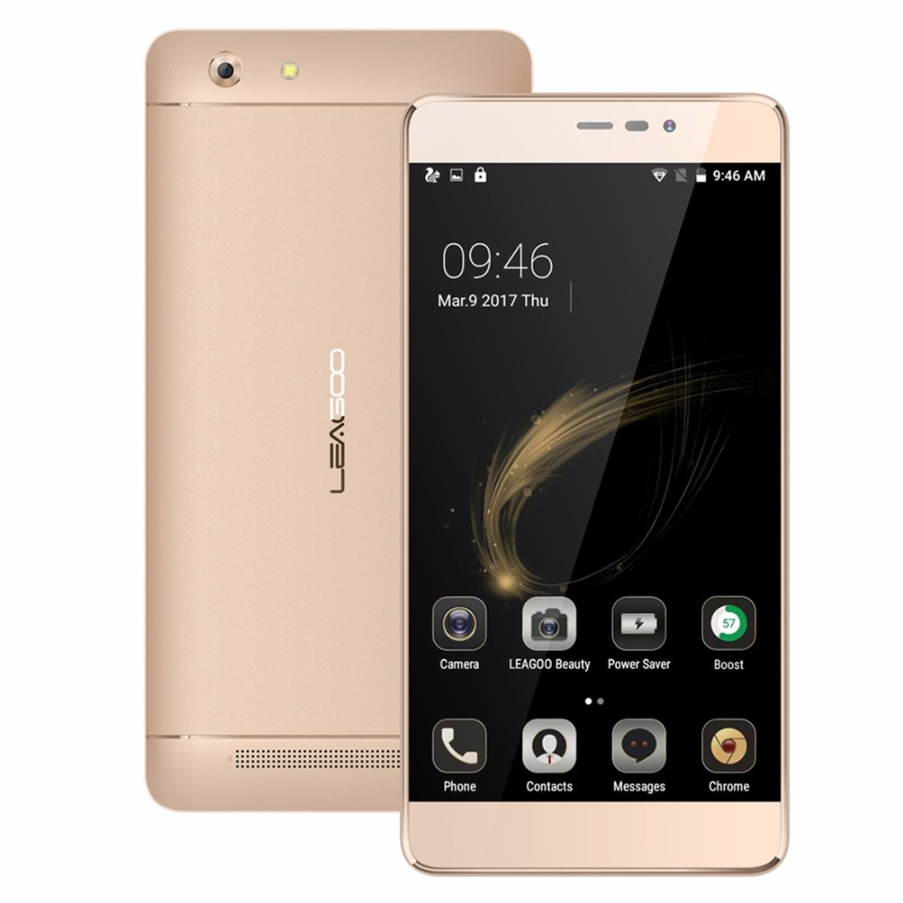 Original LEAGOO Shark 5000 5 5 inch 3G Mobile Phone Android 6 0 1GB 8GB MTK658