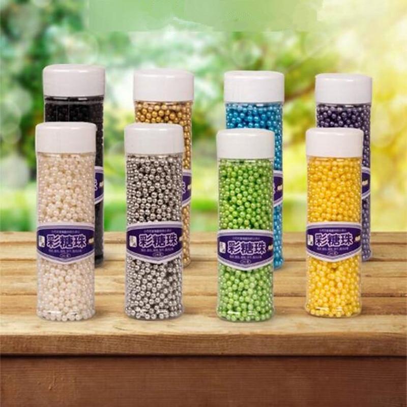 arrose de qualit alimentaire fondant gteau dcoration comestible color perles de dcoration de gteau outils de - Colorant Gateau