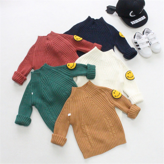 Kids Toddler Boys Sweater Kids Boys Clothing Sweater Tiny Cottons Pullover enfant girls boys sweaters kids winter sweater