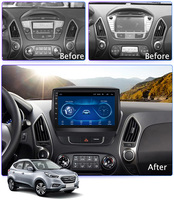 9 Super Slim Touch Screen Android 8.1 radio GPS Navigation for HYUNDAI Tucson IX35 2011 2014 Stereo Multimedia with Bluetooth