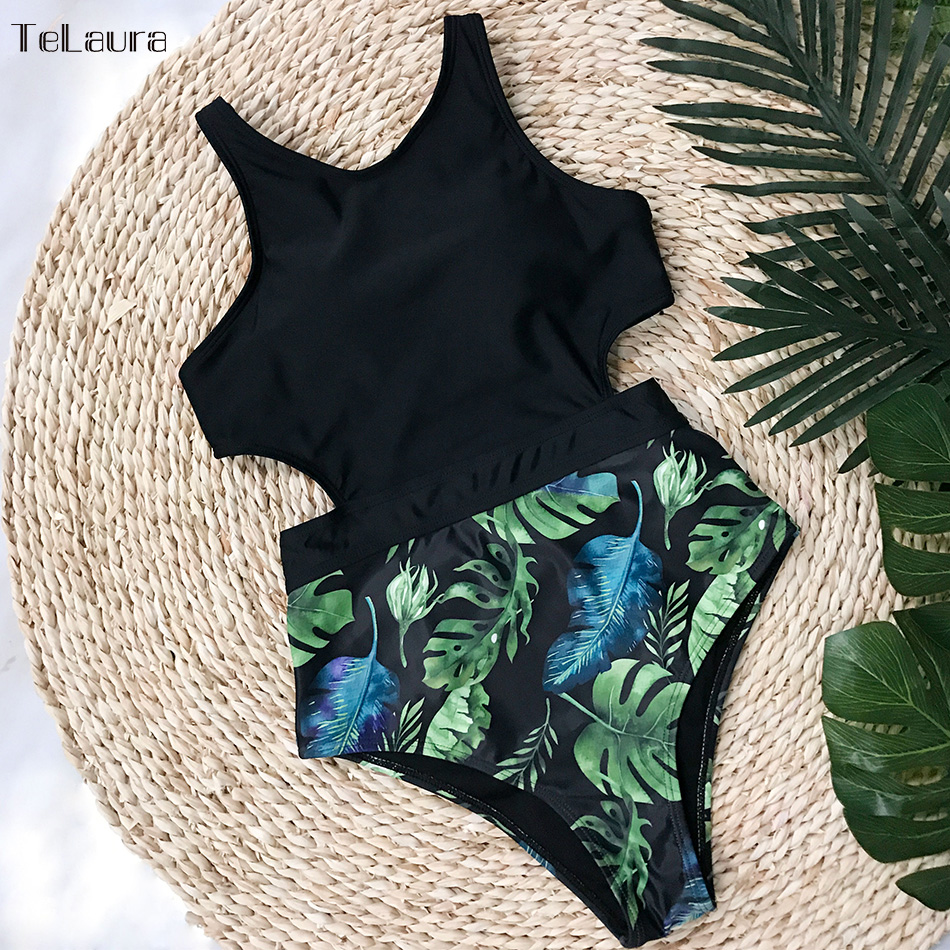 2018 Sexy One Piece Swimsuit Women Swimwear Push Up Monokini Bodysuit High Waist Swimsuit Female Bathing Suit Black Beachwear xxxl one piece swimsuit push up plus size swimwear famale 2017 black backless bodysuit summer beachwear bathing suits monokini