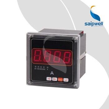 45A Tek Fazlı Akım ampermetre, AC220V Endüstriyel Elektronik Enstrüman 48*48*95 (SP-45A)