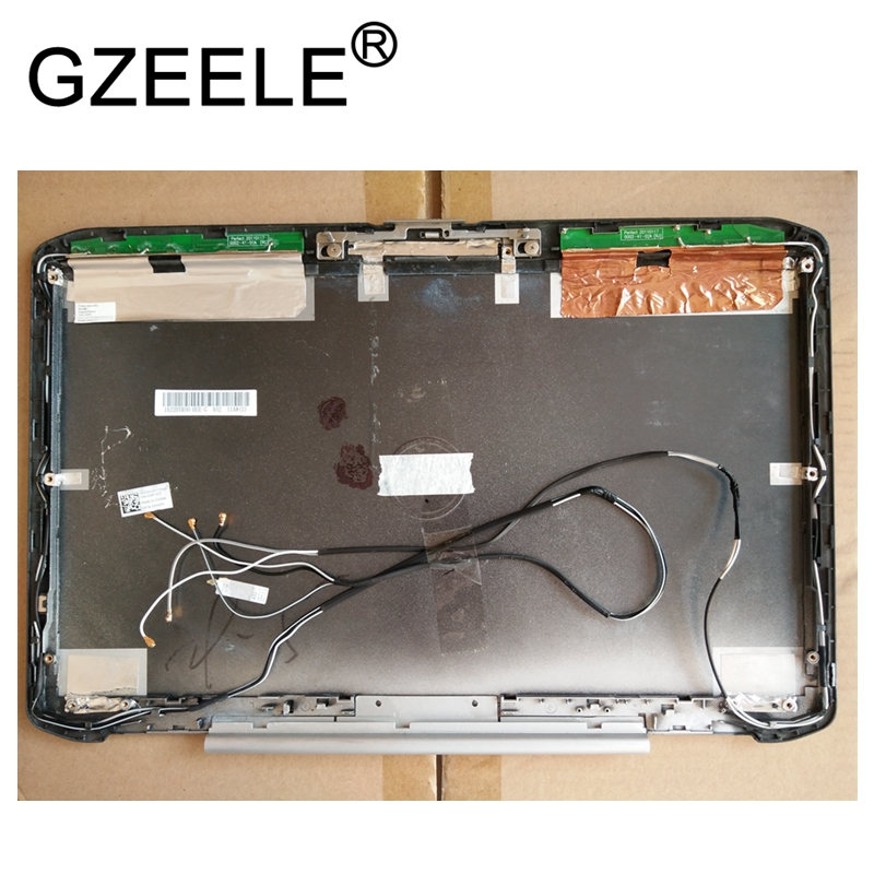 GZEELE USED For Dell Latitude E5520 5520 15.6 LCD Back Cover Rear Lid 0RFTWY RFTWY top case gzeele new for dell precision 17 7710 7720 m7710 m7720 top cover a case switchable lcd back cover n4fg4 0n4fg4 lcd rear lid case