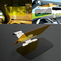 2 in 1 HD Car Mirror Sun Visors For Driver Day & Night Anti-Glare Goggle Car Sun visor extender extension Sun-shading Car Kit