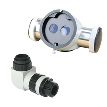 Zeiss Type Microscope Beam Splitter Extender With 1/3″ CCD Adapter