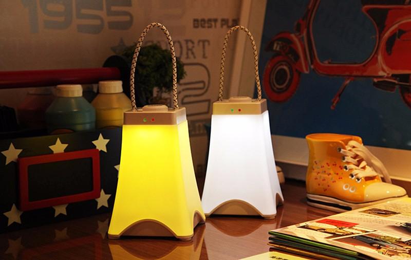 Đèn LED sạc cảm ứng ban đêm ATA