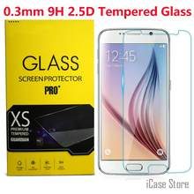 9H 2.5D Tempered Glass Screen Protective Protector Film For Samsung Galaxy S3 S4 S5 S6 S7 A3 A5 A7 A8 J1 J5 J7 Note 2 3 4 5 E7(China)