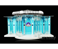 Изысканный Кристалл Колонка Церковного Амвона великолепный проект ясно акрил оргстекло Lucite Подиум Кафедрой Трибуна