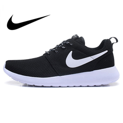Original Authentic Nike ROSHE ONE RUN Men's Running Shoes Sport Outdoor Sneakers Breathable Designer Athletic 2019 New Arrival
