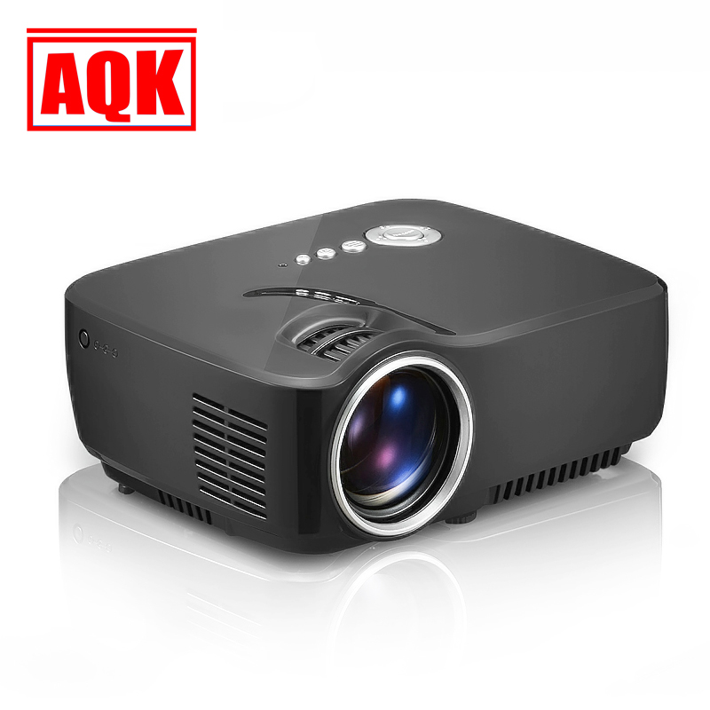 GP70 1200lumens AM01 USB Video Game 1080P HD Home Theater LCD HDMI Mini LED Projector Proyector Projetor Beamer Projektor
