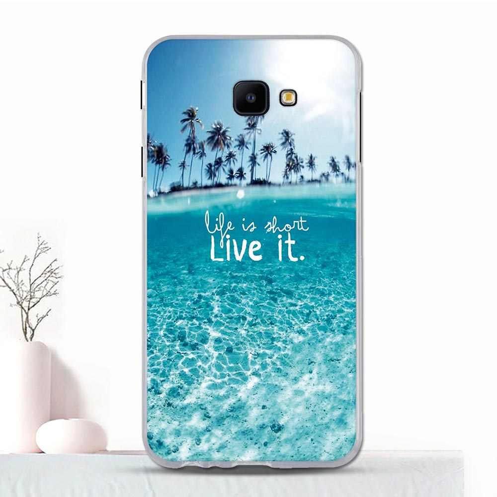 עבור סמסונג גלקסי J4 Core מקרה פגז טלפון סיליקון יוקרה ציור עבור Samsung J4 Core J410 דק TPU Coque עבור SM-J410 מקרה