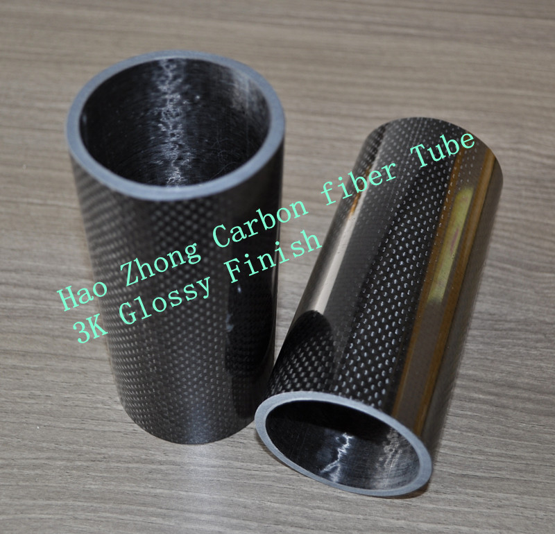 3K Roll Wrapped 100% Pure Carbon Fiber Tube 50mm*44mm*1000mm 3mm thickness 3K Matt Finish 50*44 8 10pcs 10 12 1000mm matt carbon fiber pultrusion extrusion tube pipe pole for diy rc model aircraft kite shaft tial
