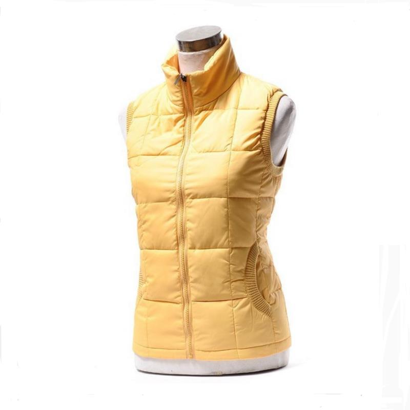 Autunno inverno donna gilet di cotone collo caldo cappotto donna caldo cotone giacca designer di marca senza maniche con cappuccio gilet casual